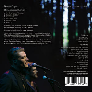 Renaissance Human CD Back Cover